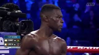 Teofimo Lopez Knockout Richard Commey  in Round 2