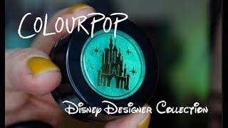 NO FILTER REVIEW | COLOURPOP | DISNEY DESIGNER COLLECTION (Some of it - not all of it)