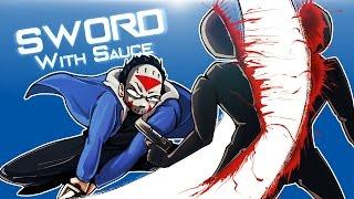 SWORD WITH SAUCE - CLUMSY NINJALIRIOUS STRIKES BACK! (Worst Ninja Ever!)