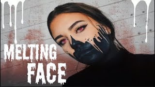MELTING FACE - HALLOWEEN MAKEUP