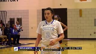 High School Girls Basketball: Minneapolis North vs. Minneapolis South (2017)