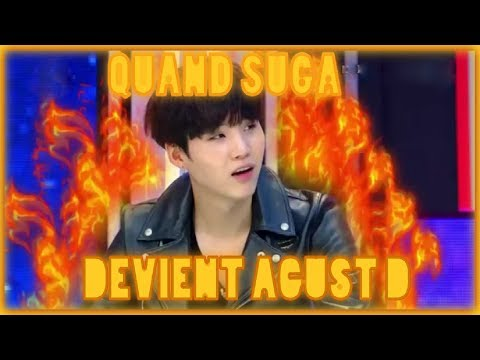 QUAND SUGA DEVIENT AGUST D