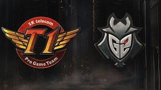 SKT vs G2 | Semifinals Game 5 | 2019 Mid-Season Invitational | SK telecom T1 vs. G2 Esports