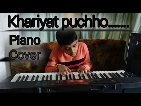 khairiyat | Arijit Singh | Chichore | piano cover |Tribute to SSR