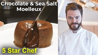 How to Cook 'Chocolate and Sea Salt Moelleux' with Valentin Mille
