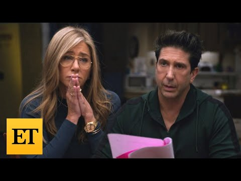 Friends Reunion: Jennifer Aniston and David Schwimmer Reveal REAL LIFE Crushes on Each Other