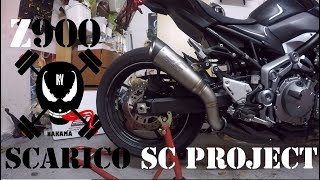 Z900 exhaust SC Project S1     With NO DB KILLER!!! Videos - mp3toke