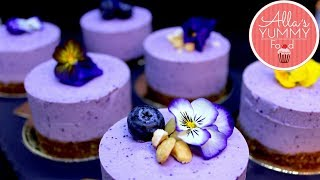 Blueberry Cheesecake Recipe (Vegan + Gluten Free)