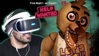 ¡CHICA QUIERE VENGANZA! - FNAF VR: Help Wanted *Noche 1 FNAF 1*