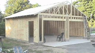 How To Build 24x24 Garage Framing Plans Pdf Plans