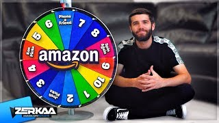 MYSTERY WHEEL Decides What I BUY on AMAZON!