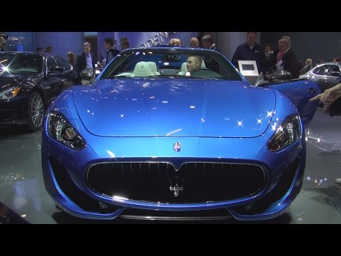 Maserati GranCabrio MC Sport Line (2016) Exterior and Interior in 3D