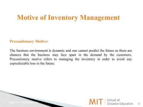 Inventory Management– The Most Important Concept To Be Followed In Retail Management | MITSDE
