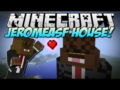 Minecraft   JEROMEASF HOUSE!   Build Showcase - Smashpipe Games