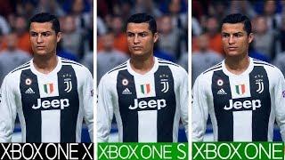 FIFA 19 | Xbox One X VS Xbox One S VS Xbox One | Graphics Comparison