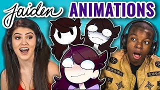 TEENS REACT TO JAIDEN ANIMATIONS