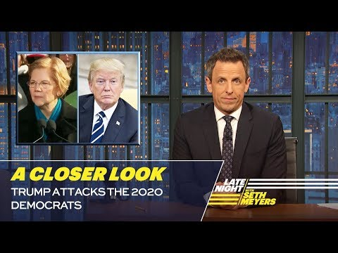 Trump Attacks the 2020 Democrats: A Closer Look