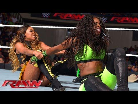 Naomi vs. Cameron: Raw, Sept. 15, 2014