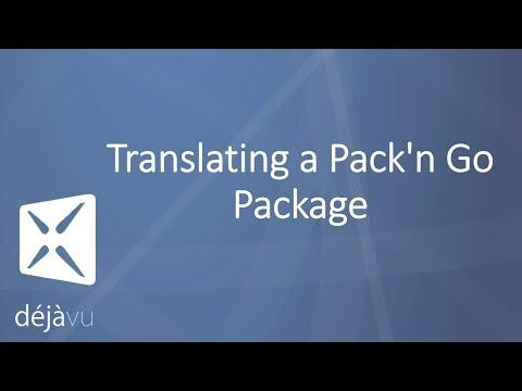 Translating a Pack'n Go Package - Déjà Vu X3