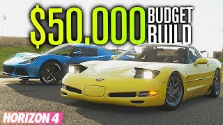 $50,000 Auction BUDGET BUILD!! | Forza Horizon 4 Co-op