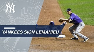 DJ LeMahieu signs with Yankees