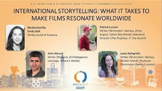 Writer's Guild of America Presents  International Storytelling
