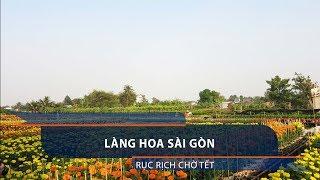 Làng hoa Sài Gòn rục rịch chờ Tết | VTC1