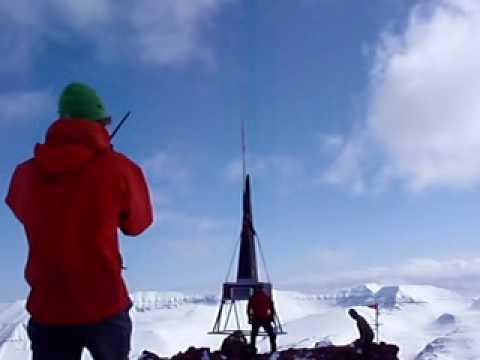 Arctic Heli Skiing Repeater setup 2010