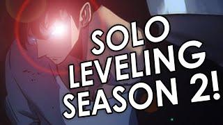 Solo Leveling SEASON 2 Release Date!