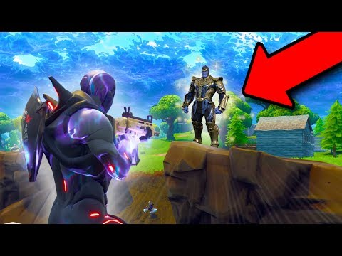 PLAY AS THANOS FROM AVENGERS INFINITY WAR! | Fortnite Battle Royale