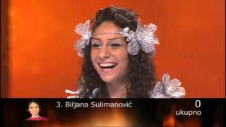 BILJANA SULIMANOVIC - BELA VILO UZIVO (ZG Polufinale 2015)