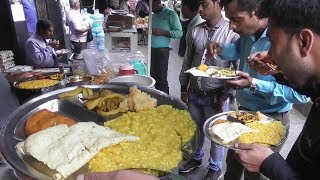 Very Cheap Food ( Khichuri,Papad,Chop Snack,Potato Chokha) | Office Time Lunch | Kolkata Street Food