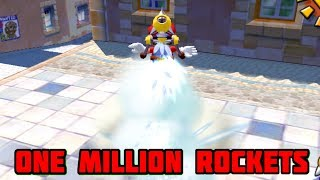 Super Mario Sunshine - What Would Happen If We Stored One Million Rockets?