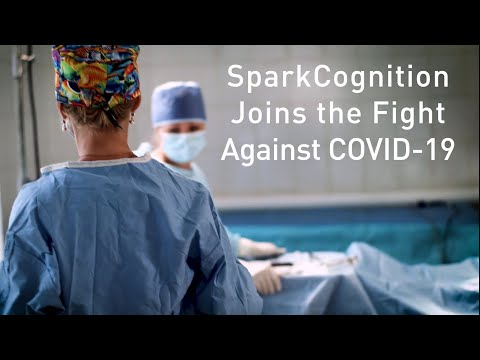 SparkCognition Joins the Fight Against COVID-19.   To find out how you can get involved, contact COVIDresponseDMS@gmail.com.