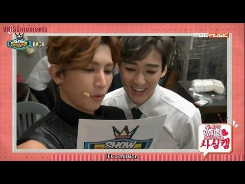 [ENG SUB] 140607 U-KISS Show Champion Backstage
