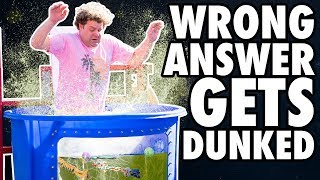 Dirty Water Dunk Tank Challenge