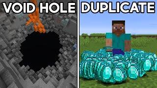 Minecraft's Most Game Breaking Glitches...