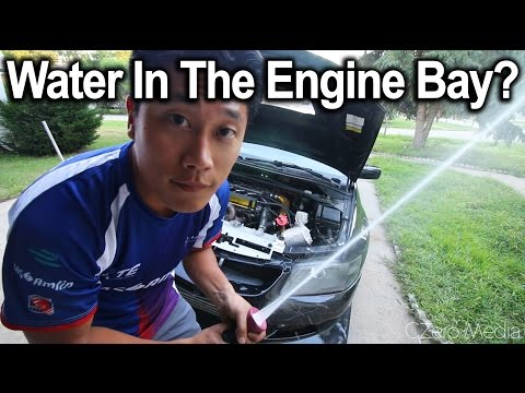 How To Wash Your Engine Bay - Evo