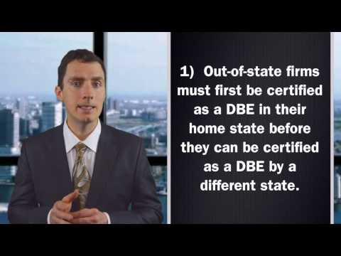 dbe certification application, dbe certification,dbe certification advantages