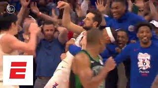 Celtics vs. 76ers Game 3: The wild final 10 seconds of regulation | ESPN