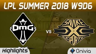 OMG vs SS Highlights Game 2 LPL Summer 2018 W9D6 Oh My God vs Snake Esports by Onivia