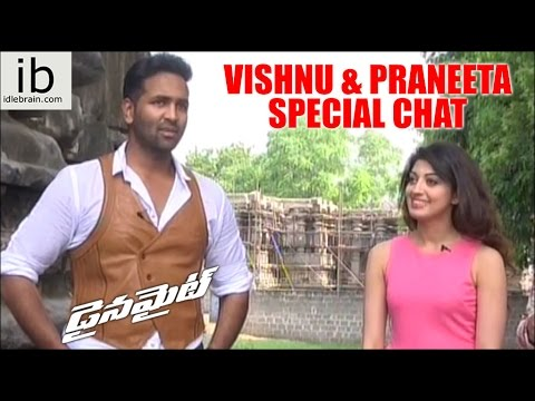 Dynamite - Vishnu & Praneeta special chat