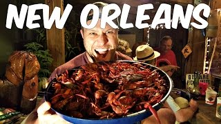 Furious World Tour | New Orleans - 50lbs of Crawfish, World's Best Catfish, Bourbon Street and More!