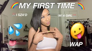 GIRL TALK: FIRST TIME WITH A GIRL SPICY STORY TIME FT. YAFEINI JEWLERY