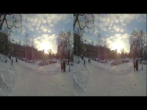 BeMe Cam Telehead: Sunny winter day in Stockholm