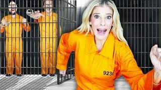 Escaping GMI Prison in GAME MASTER Escape Room in Real Life! | Rebecca Zamolo