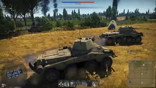 The worst tank in War Thunder Sd.kfz.234/2 (War Thunder Gameplay)