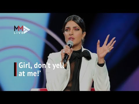 'Girl, don't yell at me': Priyanka Chopra responds to questioning over India, Pakistan tweet
