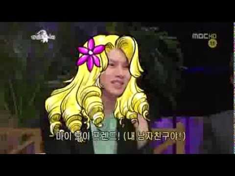 [HD] 110831 RS Heechul & John Park Speaking English Cut