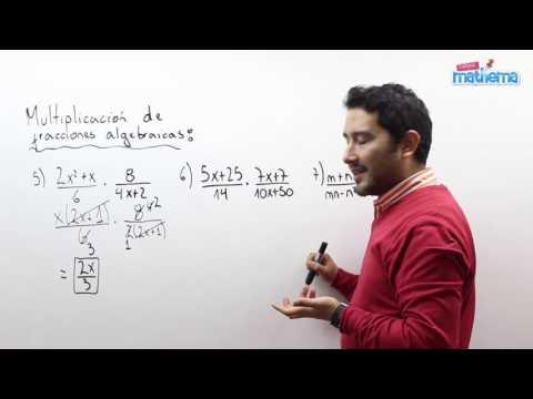 Fracciones algebraicas 10